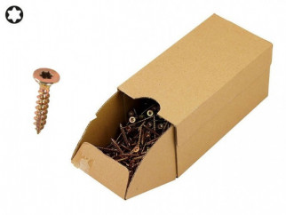 KAMA Turbo Wood Screws - 3.0 х 25 mm, 1000 pcs.
