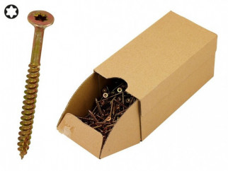 KAMA Turbo Wood Screws - 3.5 x 60 mm, 500 pcs