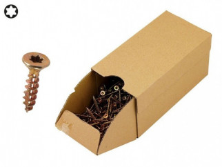 KAMA Turbo Wood Screws - 3.5 x 16 mm, 1000 pcs