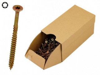 KAMA Turbo Wood Screws - 4.0 x 45 mm, 500 pcs