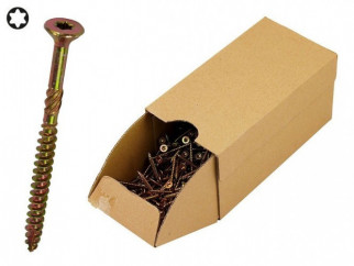 KAMA Turbo Wood Screws - 4.5 x 50 mm, 500 pcs