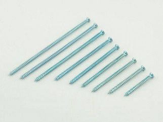 KAMA Metal Frame Countersunk Head Screw - 7.5 х 92 mm, White zinc