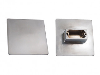 0018 Furniture Handle - 32 mm, Matt Chrome
