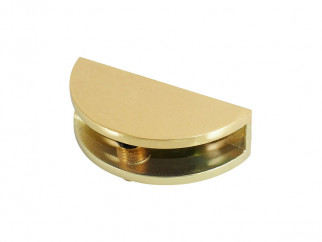 2710 Glass Shelf Support - gold