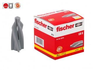 Fischer GB 8 Plastic Plug For Aerated Concrete