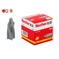 Пластмасови дюбели за газобетон (итонг) Fischer GB 8