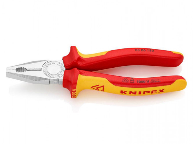 Combination pliers Knipex 03 06 180 1000V