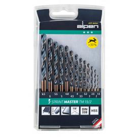 Комплект свредла (бургии) за метал Alpen Sprint Master TM 13/2