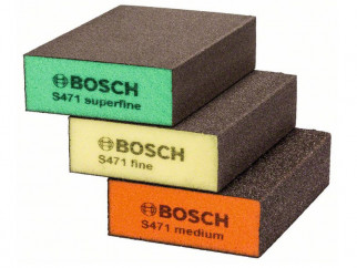К-т абразивни гъби BOSCH best for Flat&Edge