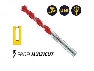 """Универсални свредла (бургии) Alpen Profi Multicut - 1/4"""" опашка, Употреба"""