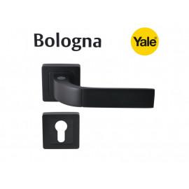 Дръжки за врати Verona Yale -Секретен патрон, черен мат