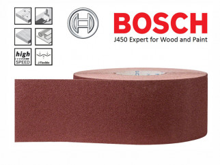 Шкурка на руло BOSCH J450 Expert for Wood and Paint - 50м