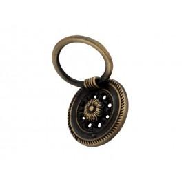 Ретро дръжка за мебели 8622 - С един винт, Старо злато
