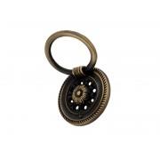 Ретро дръжка за мебели KAMA 8622 - С един винт, Старо злато