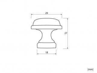 Ретро мебелна дръжка MD-2042