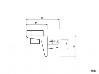 Рафтоносачи за стъкло със силикон RA-087