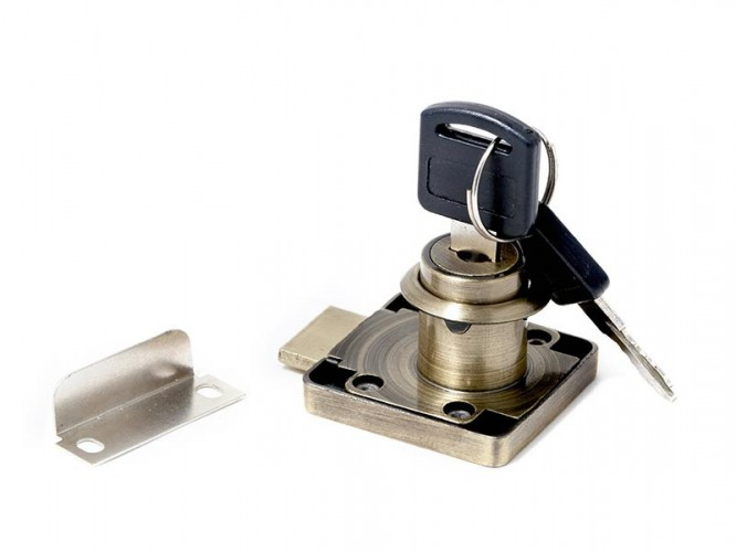 KM-138-AB Rim Lock