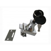 Мебелна ключалка за стъклени вратички KM-407