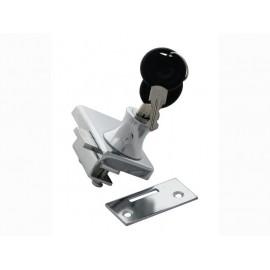 Мебелна ключалка за двойка стъклени вратички KM-409