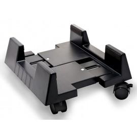 Подвижна количка за компютър GTV - Черен