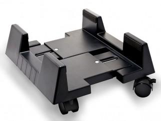 Количка за компютър - черна