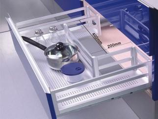 Кухненски кош за вграждане под сифон