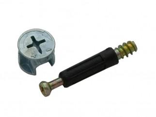 Пластмасов мини фикс с ексцентрик SEM-MF-1002B