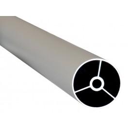 Алуминиев дистанционер за мебели KAMA - 3 метра, ф38 мм