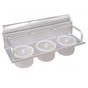 Алуминиева кухненска поставка за подправки KAMA 1007