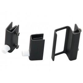 Комплект чепови панти с дръжка за стъклени витрини G-360