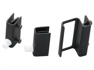 Комплект за стъклена витрина G-360 - черен