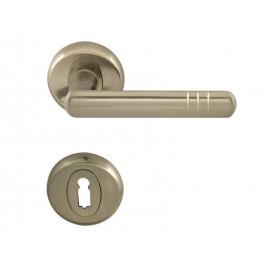 Дръжки за интериорни врати Вега - Обикновен ключ, Инокс