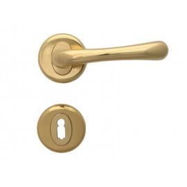 Дръжки за интериорни врати Драко - Обикновен ключ, Злато
