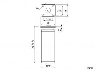 Мебелни крачета KR-DAP77