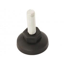 Мебелна стъпка STPCZ - M10 x 50 мм, Черен