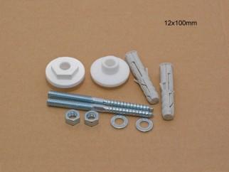Санитарно закрепване за мивка - 12 x 100 мм
