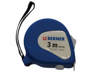 Berner Nylon Coated Tape Measure - 3 m