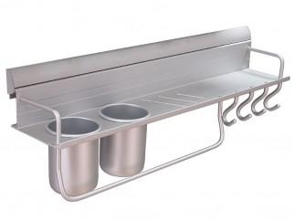 KA Aluminium Kitchen Rack - 610 mm