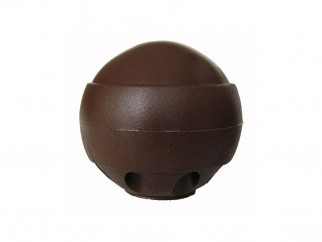 Spherical Door Stopper - brown