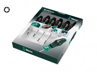 Wera Kraftform Comfort 1367/6 Torx Screwdriver Set