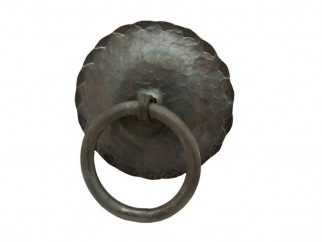 Халка за порта от ковано желязо