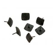 Квадратен декоративен кабър от ковано желязо