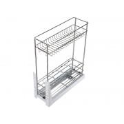 Кухненски кош за вграждане в шкаф KAMA MD023G