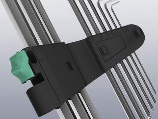 Комплект Г-образни ключове Wera 967 PKL/9 TORX