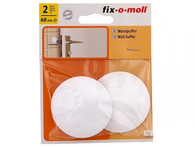 Самозалепващ буфер за врата Fix-o-moll - бял