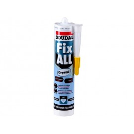 Soudal Fix All Crystal Clear Sealant Adhesive - 290 ml