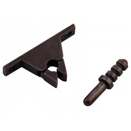 IBFM Metal Door Stopper With Locking Mechanism - Bronze