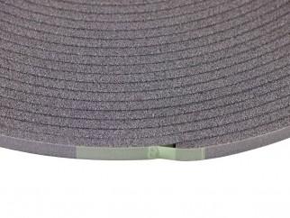 Уплътнителна лента за фуги на интериорни врати и прозорци - Сив
