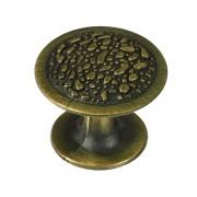Ретро дръжка за мебели KAMA 92709 - С един винт, Старо злато