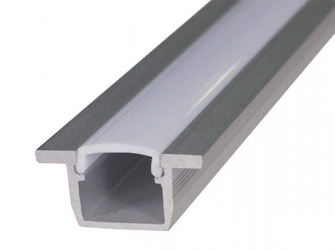 Алуминиев профил за LED осветление - за вкопаване
